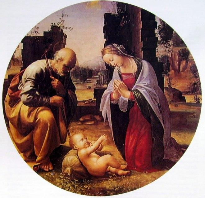 Fra Bartolomeo: Adorazione del Bambino