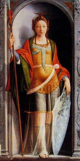 Fra Bartolomeo: Minerva