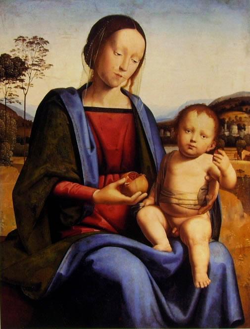 Fra Bartolomeo: Madonna col Bambino
