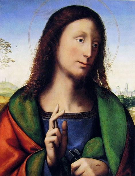 Fra Bartolomeo: Cristo Benedicente