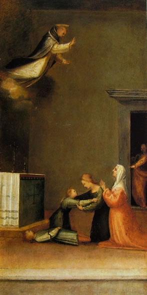 S. Antonio resuscita un fanciullo