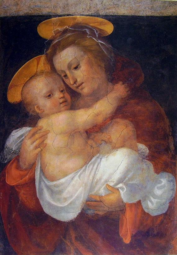 Fra' Bartolomeo: Madonna col Bambino