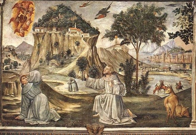 Domenico Ghirlandaio: Stigmate di san Francesco