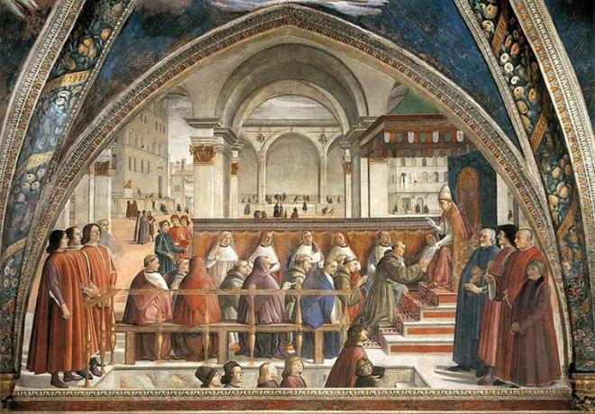 Domenico Ghirlandaio: Conferma della regola