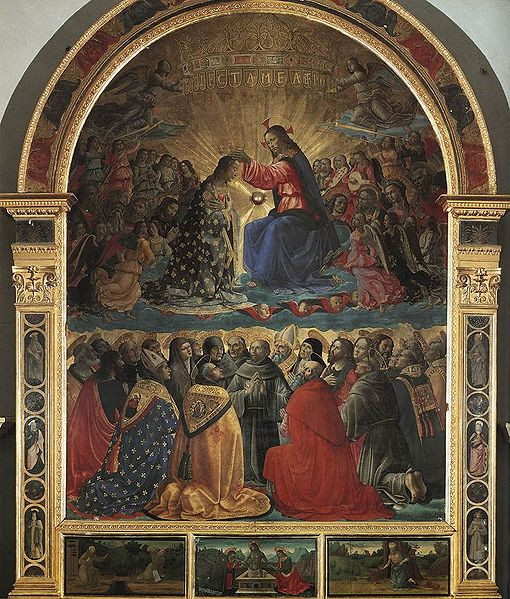 Domenico Ghirlandaio: Incoronazione della Vergine