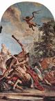 Ercole in lotta col centauro Nesso