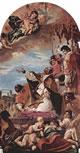 San Gregorio Magno intercede presso la Madonna