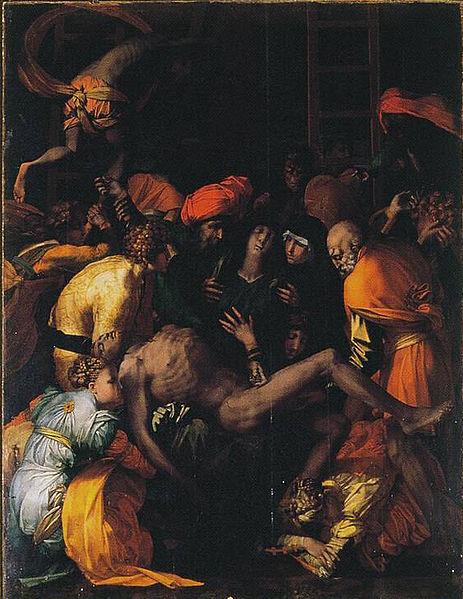 Rosso Fiorentino: Compianto sul Cristo deposto