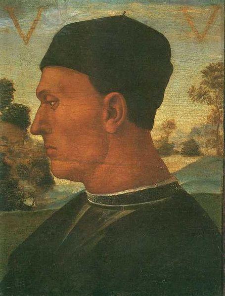 Luca Signorelli: Ritratto di Vitellozzo Vitelli