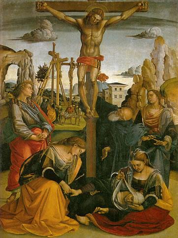 Stendardo della Crocifissione - Crocifissione