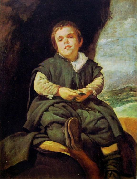 Il ragazzo di Vallecas, Madrid Prado (cm. 83)