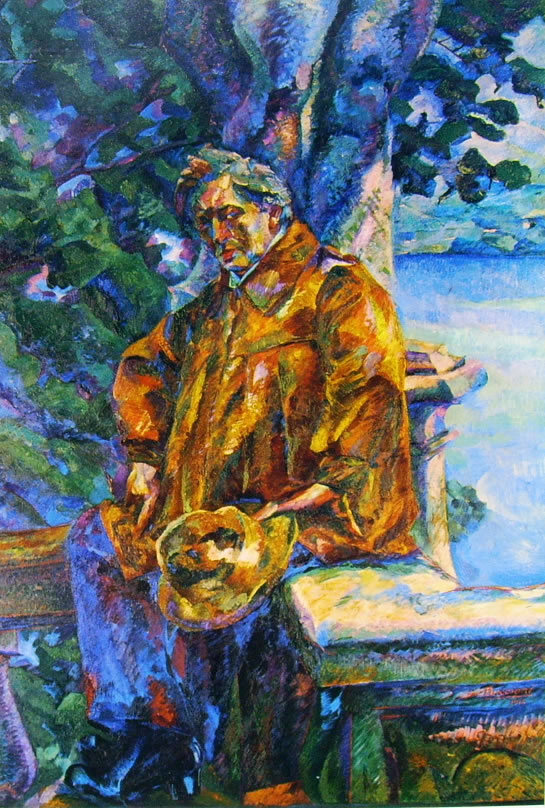 Ritratto del Maestro Ferruccio Busoni