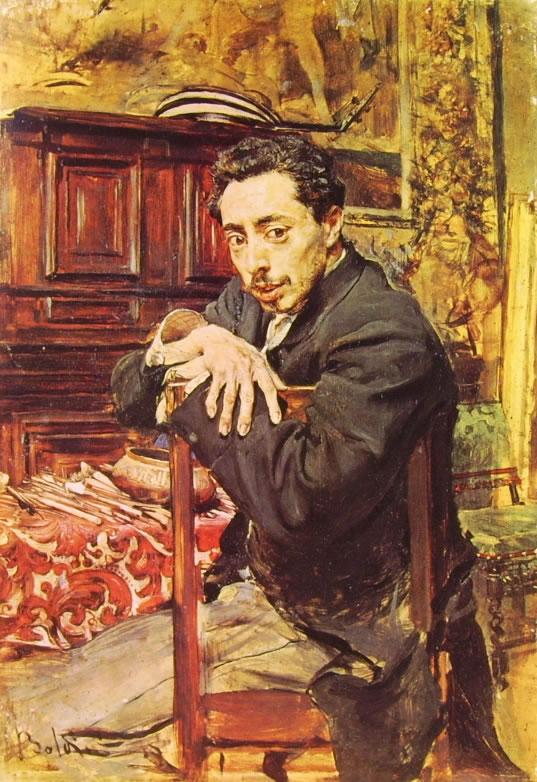 Giovanni Boldini: Ritratto del pittore Joaquin Ruano