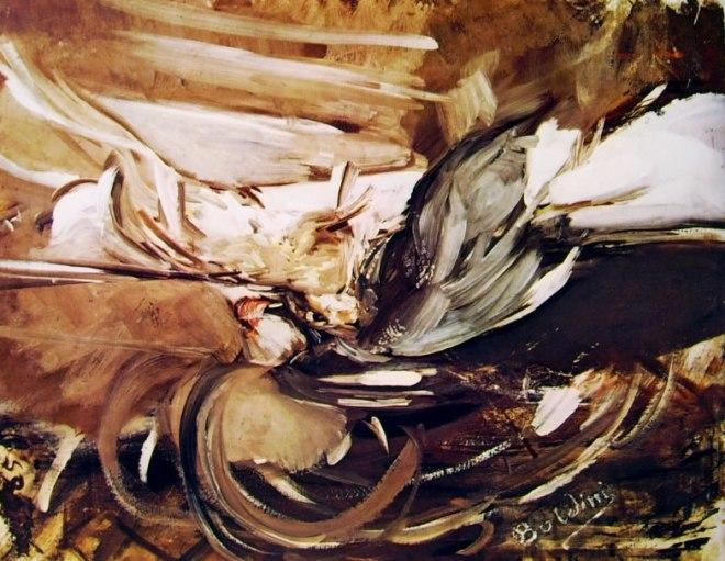 Giovanni Boldini: Selvaggina in grigio