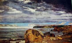 Dipinti murali della Falconiera - Marine