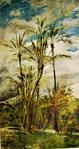 Dipinti murali della Falconiera - Palme e aranci