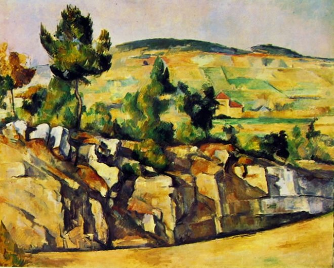 Paul Cezanne: Rupi e colli in Provenza