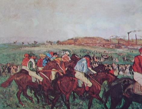 Degas - corsa di gentlemen
