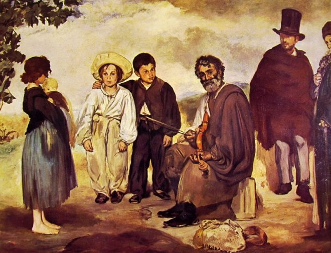 Edouard Manet: Il vecchio musicista