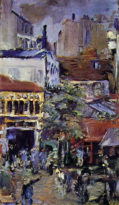 "Edouard Manet: Studio ""panoramica dalla place Clichy"