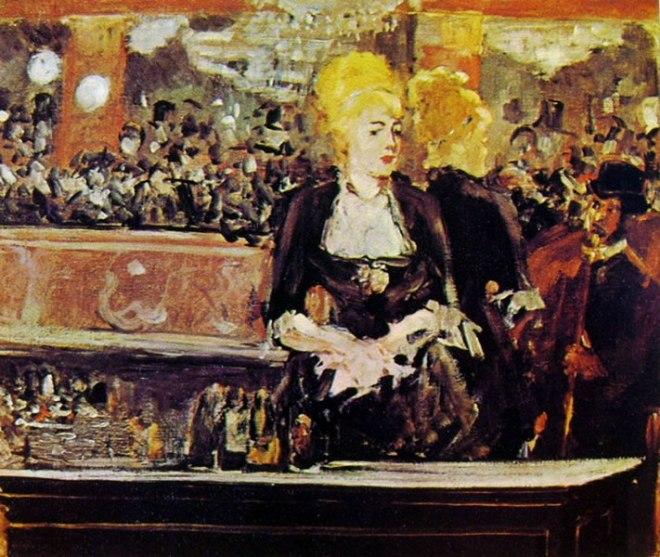 """Studio per """"Un bar alle Folies-Bergère di Edouard Manet"""