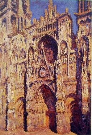 La Cattedrale di Rouen in pieno sole, 1894, 107 x 73 cm, Musée d'Orsay Parigi