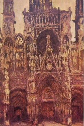 La Cattedrale di Rouen in pieno sole, 1894, 107 x 73, Musée d'Orsay Parigi
