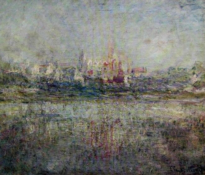 Claude Monet: Nebbia a Vetheuil
