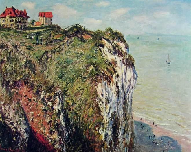 Claude Monet: Dirupo a Dieppe