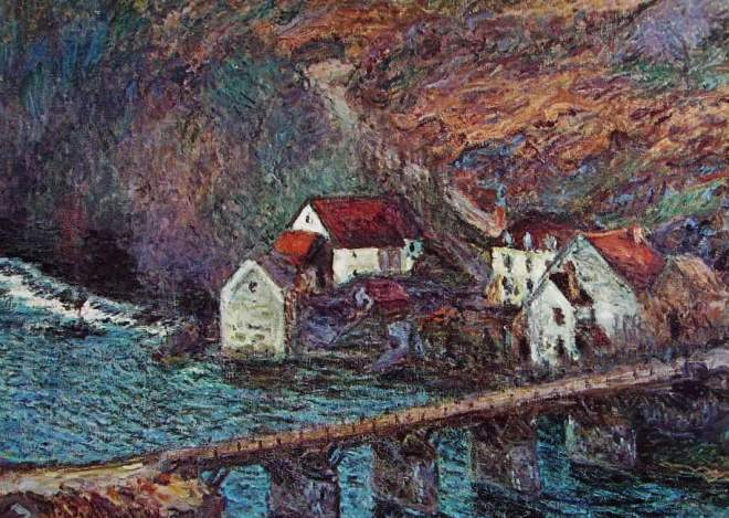 Claude Monet: Il ponte di Vervit