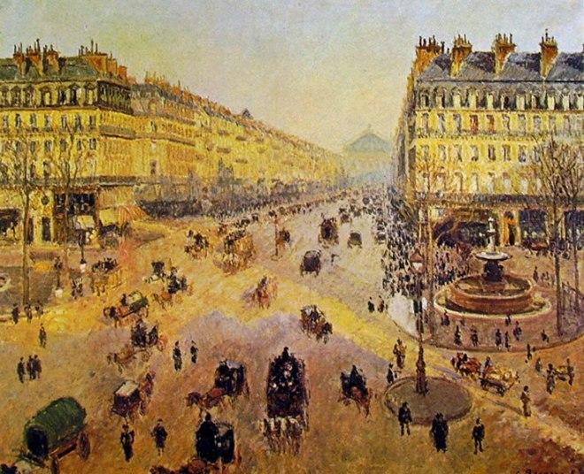 Camille Pissarro: Place du Theatre Francais