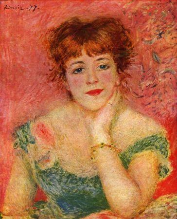 Renoir - Jeanne Samary in abito scollato
