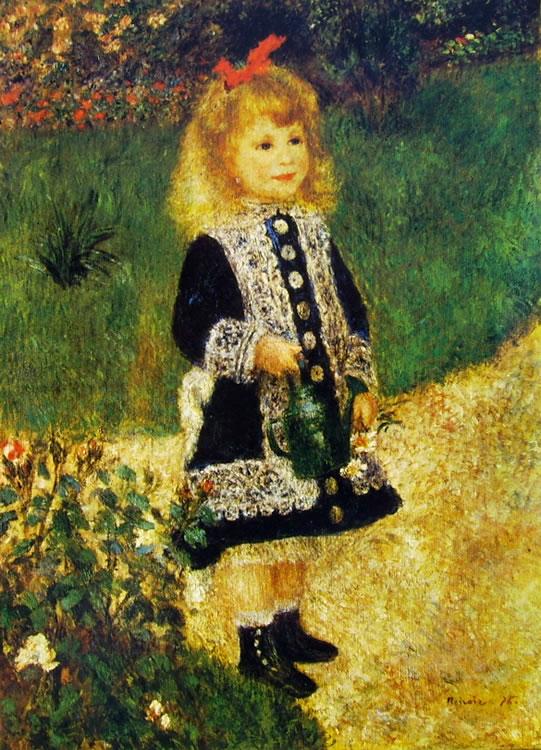 Bambina con annaffiatoio, 1876, cm. 100 x 73, National Gallery of Art, Washington