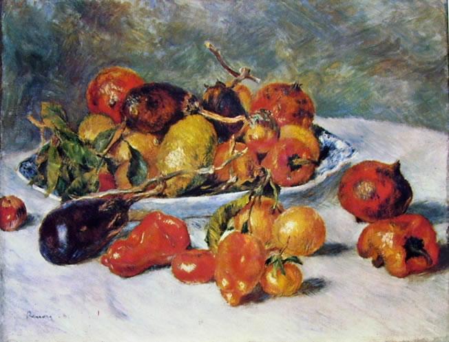 Frutta del meridione, 1881, 51 x 68,5, Art Institute di Chicago