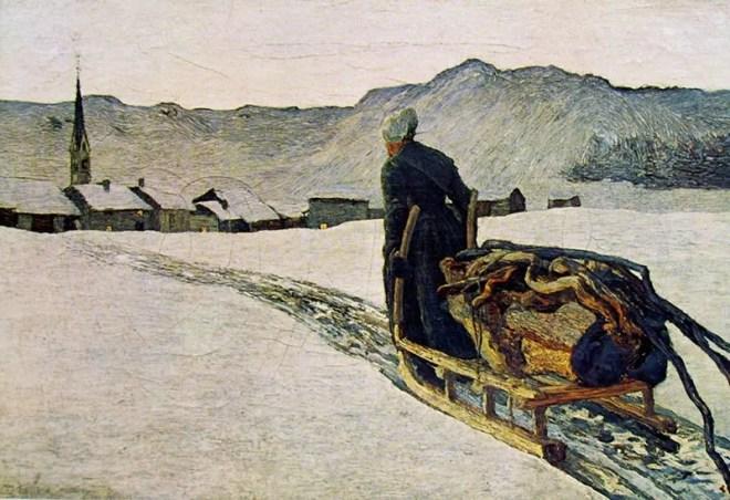 Giovanni Segantini: Ritorno dal bosco