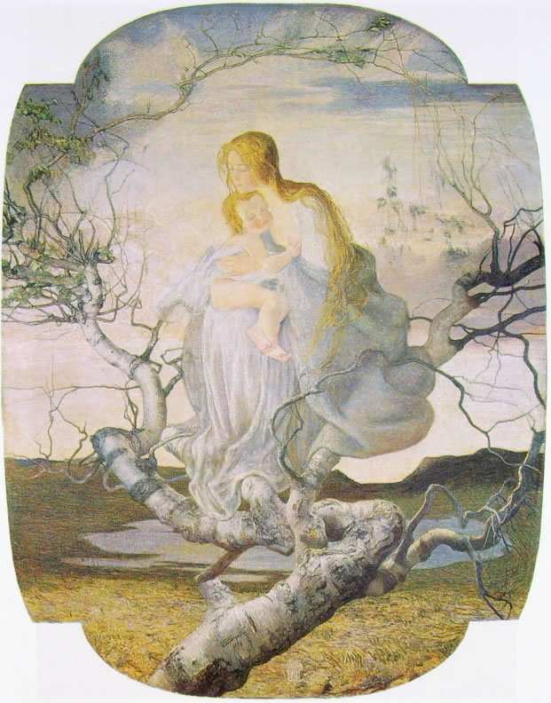 Giovanni Segantini: L'angelo della vita