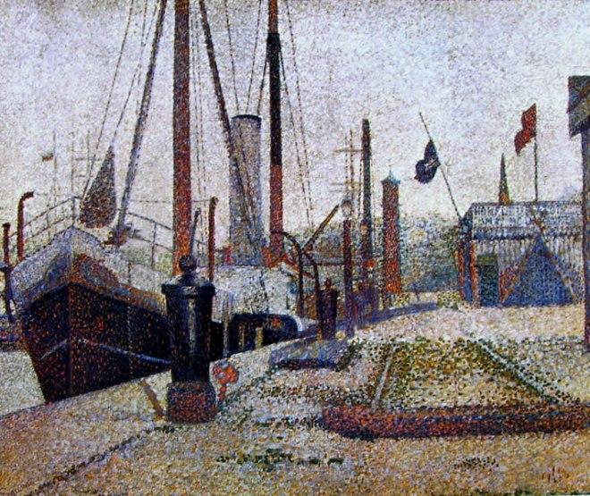 """Georges-Pierre Seurat: La """"Maria"""" a Honfleur"""