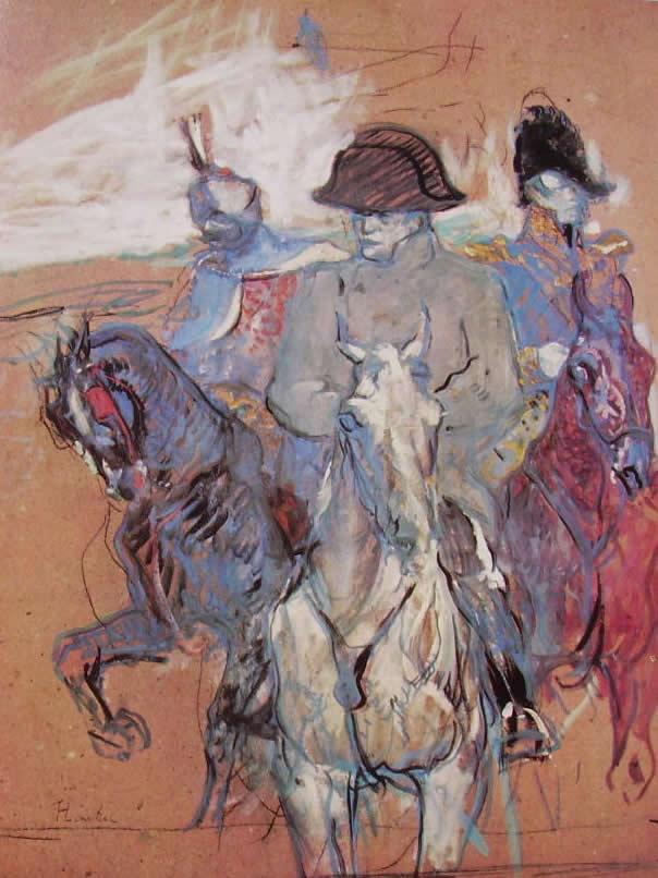 Toulouse-Lautrec: Ritratto di Napoleone