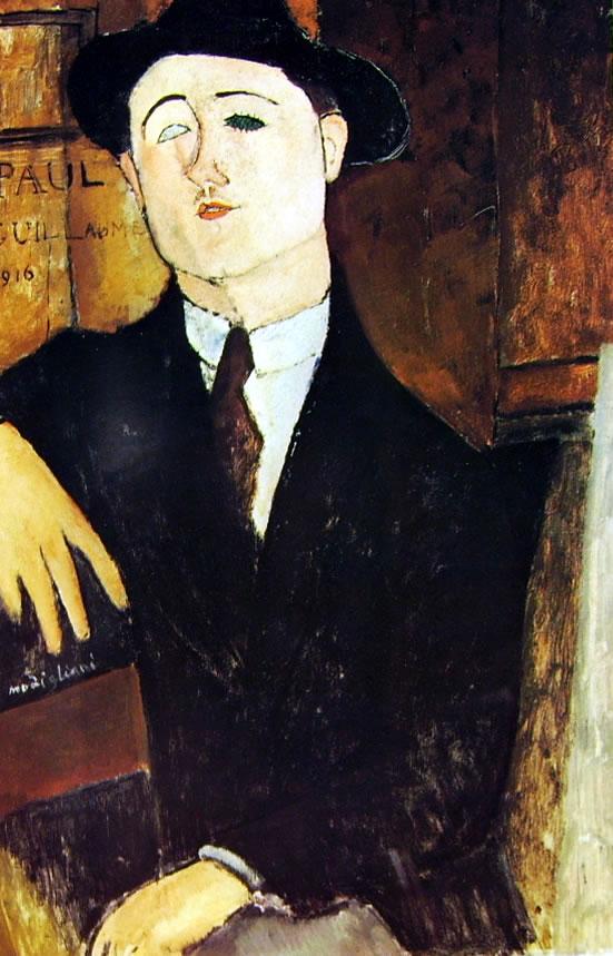 Amedeo Modigliani: Paul Guillaume seduto