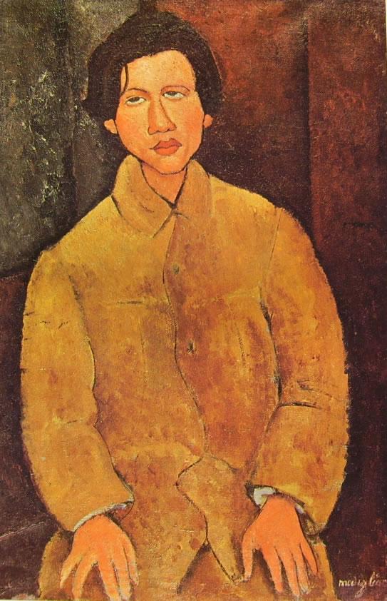 Amedeo Modigliani: Chaim Soutine seduto