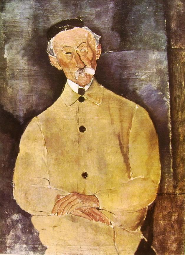 Amedeo Modigliani: Monsieur Lepoutre