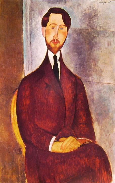 Amedeo Modigliani: Leopoldo Zborowski seduto