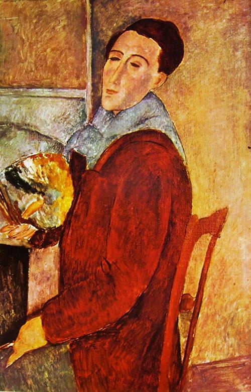 Amedeo Modigliani: Autoritratto