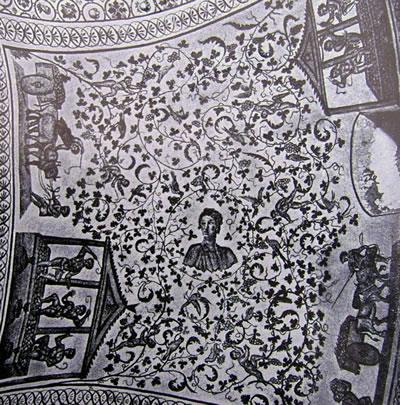 Decorazione musiva nell'ambulacro (Mausoleo di Santa Costanza, Roma)
