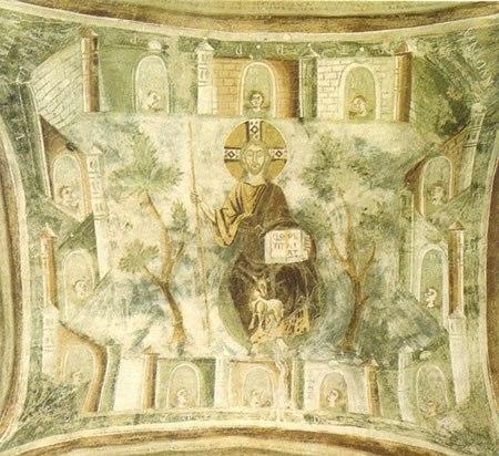Affreschi nell'abbazia di San Pietro al Monte: Scene apocalittiche