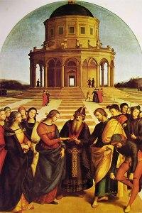 Raffaello Sanzio: Sposalizio della Vergine