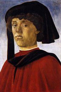 Ritratto di giovane, 1470 circa, tempera su tavola