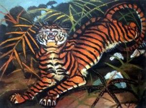 Antonio Ligabue: Tigre, collezione privata.