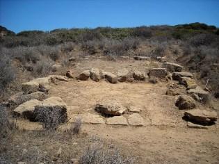 Resti del tempio punico di Bithia