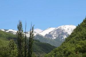 Preci immersa tra le vette dei Monti Sibillini